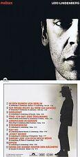 """UDO LINDENBERG: Phönix con """"Horizonte"""" y """" SPION """"! 11 Songs !1986! NUEVOS CD!"""