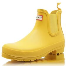 HUNTER Womens Original Chelsea yellow