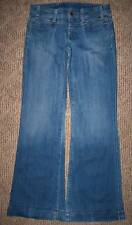 CITIZENS of HUMANITY DISTRESSED WIDE FLARE JEANS WOMENS/GIRLS Size 26 - VINTAGE?