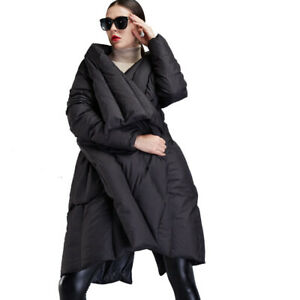 New Women's Down Coat Loose Large Swing Cape Type Thick Outerwear