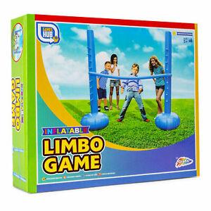 Inflatable Limbo Set Summer Garden Games Family Fun