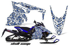 AMR Racing Yamaha Viper Graphic Kit Snowmobile Sled Wrap Decal 13-14 SKULL CAMO