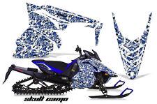 AMR Racing Yamaha Viper Graphic Kit Snowmobile Sled Wrap Decal 13-14 SKULL CAMO