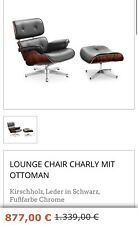 Sessel  LOUNGE CHAIR CHARLY MIT OTTOMAN