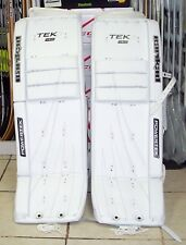 NEW! Barikad V5.0 Ice Hockey & Roller Hockey Leg Pads - Sr 34+1 - RBK Pro Spec!