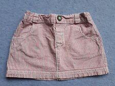 Jojo maman bebe 18-24 Skirt Red/white pinstripe