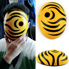 Japanese Anime NARUTO Tobi Cosplay Mask Halloween Masks Prop Toy Party Show Gift