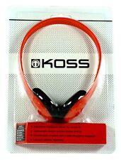 184987  KOSS KPH7 On-Ear Lightweight Headphones (Red) with Adjustable Headband