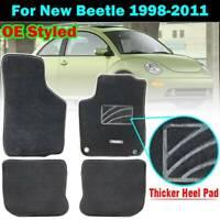 Custom Fit Nylon Car Floor Mats Liner Carpet For VW New Beetle 98-11 LHD