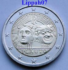 Italië speciale 2 euro 2016 Plauto UNC