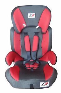 Elemed 123-RG Seggiolino Auto 9-36 Kg Gruppo 123 Racing, Rosso CERT. ECE R44 04