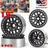 """4PCS 1.9"""" Metal Beadlock Wheel Rims for 1/10 RC TRX4 AXIAL SCX10 TRX-4 D90 90046"""