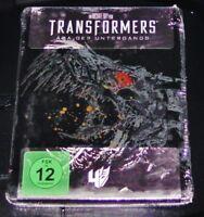 Transformers Epoca Del Tramonto Limitata steelbook Edizione blu ray Nuovo & Ovp