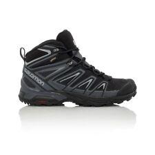 Salomon X Ultra 3 Mid GTX Men's Hiking Boot - Black/India Ink/Monument
