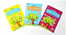 Learning Arabic Numbers / Alphabet/ Writing: Fun Activities for Kids -3 Book Set