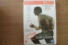 12 Years A Slave (DVD) . FREE UK P+P ...........................................