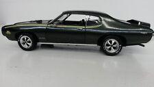 DIE CAST  1969 PONTIAC GTO JUDGE 1/18 SCALE ERTLE  W/O BOX