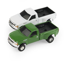 John Deere 1/64 Ford F350 Pickup Green OR White (of choice) #LP64783