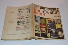 Automobile von Heute International NSU Citroen Jaguar Opel Rekord Austin