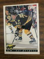 1993-94 Topps #350  Ray Bourque Boston Bruins  NrMt