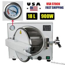 18L Dental Autoclave Steam Sterilizer Medical Sterilization Machine Equipment
