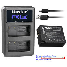 Kastar Battery LCD Dual Charger for Panasonic BLC12 Lumix DMC-G7HK DMC-GX8KBODY