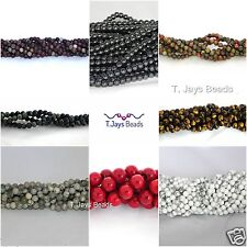 4mm Semi Precious Gemstone Rounds Beads Jewellery Making (approx. 89 - 97 beads)