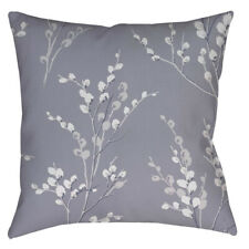 HANDMADE cushion cover Use Laura Ashley pussy willow pale iris Fabric flora
