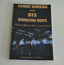 LEARN KOREAN WITH BTS BANGTAN BOYS LANGUAGE LEARNERS
