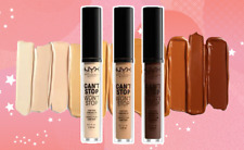 NYX 'Can't Stop Won't Stop' Contour Concealer Long-Lasting 24h New In 24 SHADES