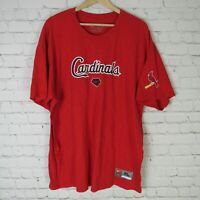 Nike St Louis Cardinals XL T Shirt Mens Red MLB Baseball
