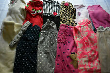 USED 21 PC. LOT OF BABY GIRL CLOTHES 6-12 MONTHS EUC/VGUC
