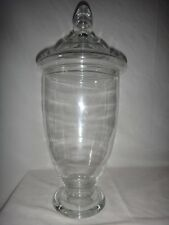 Large Antique Free Blown Glass Apothecary Jar Candy Drug Store Show Globe