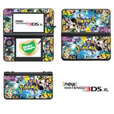 Pokémon Vinyle Peau Sticker Pour New Nintendo 3 DS XL (avec C Stick)
