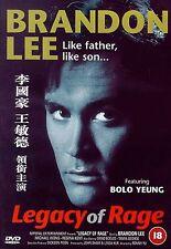 Legacy Of Rage DVD Brandon Lee Michael Wong Original UK Release New Sealed R2