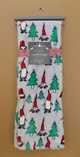 Gnome Blanket Christmas Fleece Ultra Soft Winter Gnome Holiday Gift NEW*