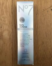 NO7 EARLY DEFENCE GLOW ACTIVATING SERUM 30ml BNIB Uk Seller FREE POST