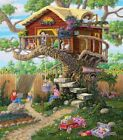 SunsOut Girl's Clubhouse 300 Piece Jigsaw Puzzle 38788 For Sale
