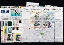 Slowenien Slovenia Slovenie 1994 year set + charity, all stamps, postfrisch MNH