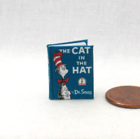 THE CAT IN THE HAT Miniature Book Miniature Dollhouse 1:12 Scale Book Dr. Seuss