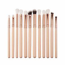 12Pcs Pro Makeup Brushes Powder Foundation Eyeshadow Eyeliner Lip Brush Tool 3C