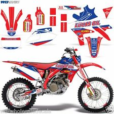 Decal Graphic Kit Honda CRF 450x Dirt Bike Sticker Backgrounds CRF450 X 05-15 LO