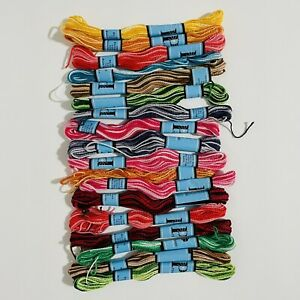 New 18 skeins Lot PRISM Thread Embroidery cross stitch Floss cotton Craft 10 yd