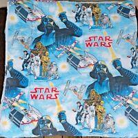 Original 1977 Star Wars Sleeping Bag Darth Vader Skywalker Princess Leia Vintage