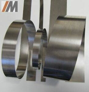 1m Federband Flachfeder Stahlband gehärtet C-Stahl B: 5-150mm, S: 0,20-0,30mm