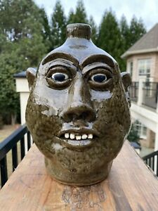 Lanier Meaders Face Jug