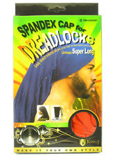 KING.J UNISEX SUPER LONG SPANDEX CAP FOR DREADLOCKS (705 & 706)