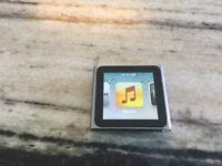 Apple iPod nano 6th Generation Graphite (8 GB) Gently Used