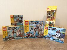 5 Brand New Sealed LEGO Pirates sets 70409, 70410, 70411, 70412, 850839 For Sale