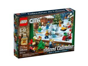 LEGO 60155 Advent Calendar 2017 - Brand New Sealed - Free Shipping